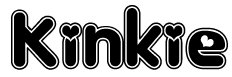 Kinkie, yea, I know the name is kinda weird, but it's such a CUTE font! Trust me ^_-!